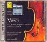 """Vivaldi: Le Quattro Stagioni """"A Parti Reali""""; Sonate RV 27 & 36 [Hybrid SACD]"""