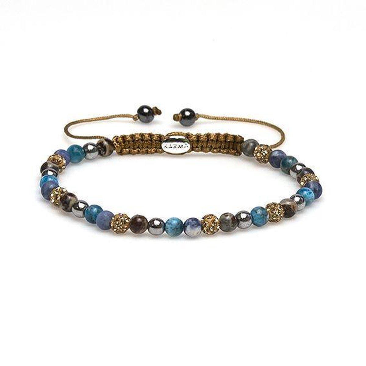 Karma Armband 84255 Spiral Jayline XXS (Gold Crystal)