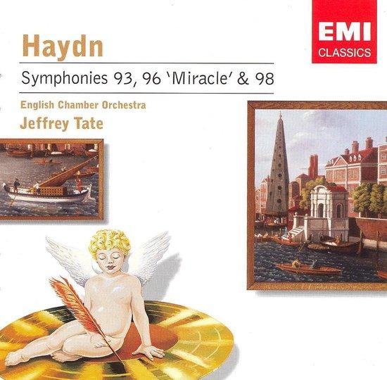 "Haydn: Symphonies Nos. 93, 96 ""Miracle"" & 98"