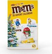 M&M's 3D advent calendar 346g
