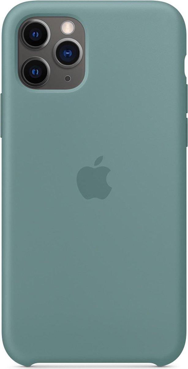 Apple Siliconen Hoesje voor iPhone 11 Pro - Cactus Groen