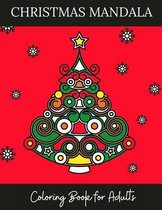 Christmas Mandala Coloring Books for Adults