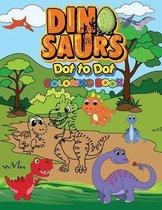 Dinosaurs Dot To Dot Coloring Book