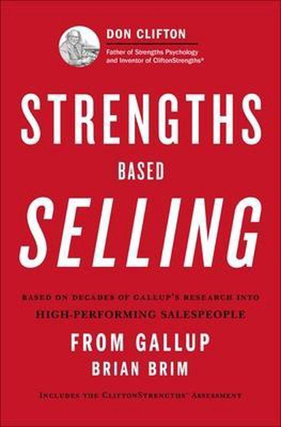 Boek cover Strengths Based Selling van Gallup (Hardcover)