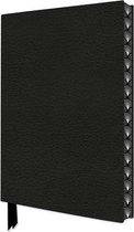 Ebony Black Artisan Notebook (Flame Tree Journals)