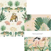 Catch Me & Jaipur - Schriftset/Notitieboek set - A5 Formaat - Zachte kaft - A5 formaat - Gelinieerde pagina's - Zachte Kaft  - Creative Lab Amsterdam