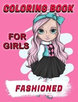 Fashioned Coloring Book For Girls