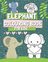Elephant Colouring Book for Kids