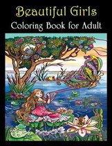 Beautiful Girls Coloring Book for Adult