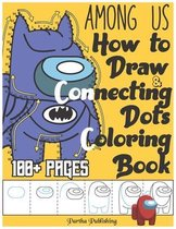 Among us - How to draw, Connecting dots and coloring book