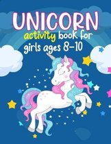 Unicorn Activity Books For Girls Ages 8-10