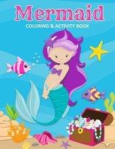 Mermaid Coloring & Activity Book