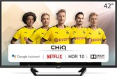 CHiQ L42G6F - 42 inch Android TV - 2K FHD - HDR10 - Dolby audio - Chromecast