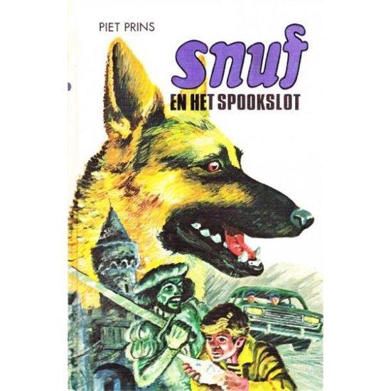 Boek cover Snuf-serie - Snuf en het spookslot van Piet Prins (Hardcover)