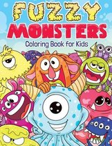 Fuzzy Monsters Coloring Book for Kids