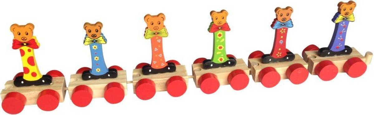 Lettertrein I    * totale trein pas vanaf 3, diverse, wagonnetjes bestellen aub