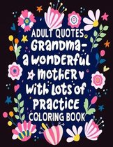 Adult Quotes Coloring Book