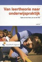Boek cover Van leertheorie naar onderwijspraktijk van Tjipke van der Veen (Paperback)