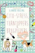 Boek cover Cito-stress, turntoppers en brugpiepers van Gonneke Huizing (Hardcover)