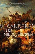 Boek cover Vlaanderen in de middeleeuwen van David Nicholas (Hardcover)