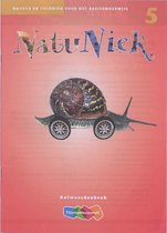 Boek cover NatuNiek groep 5 antwoordenboek van Adriaan Maters