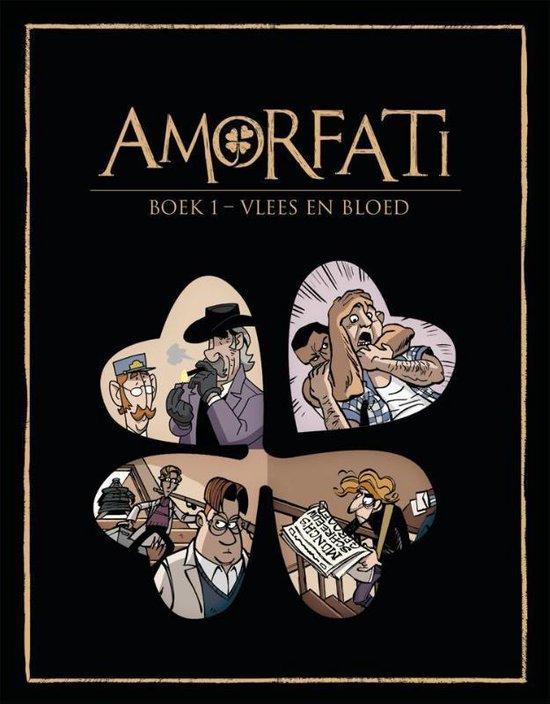 Boek cover Amorfati hc01. vlees en bloed van René Leisink (Paperback)