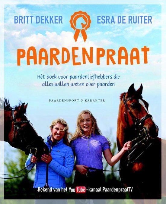 Boek cover Paardenpraat van Britt Dekker (Paperback)
