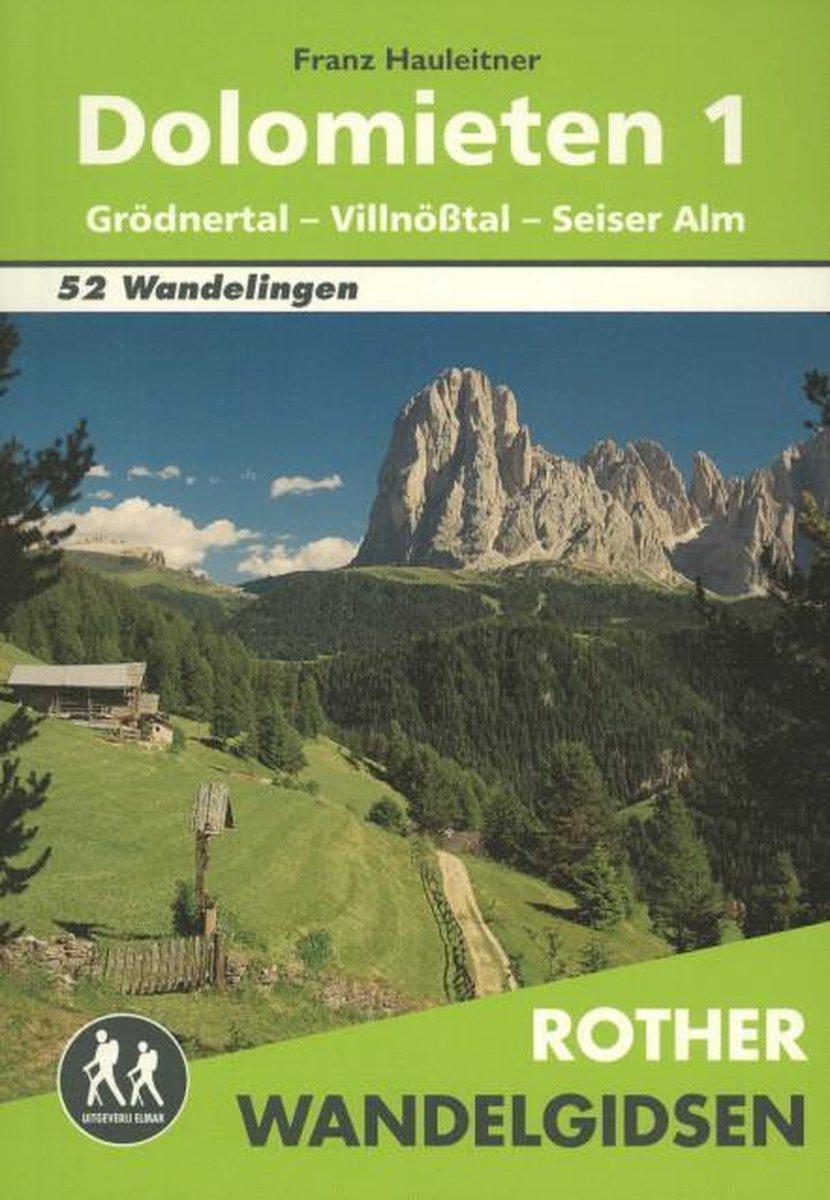 Rother Wandelgidsen - Dolomieten - Franz Hauleitner