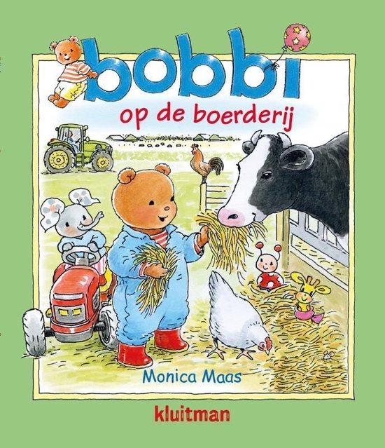 Boek cover Bobbi 26 - Bobbi op de boerderij van Monica Maas (Hardcover)