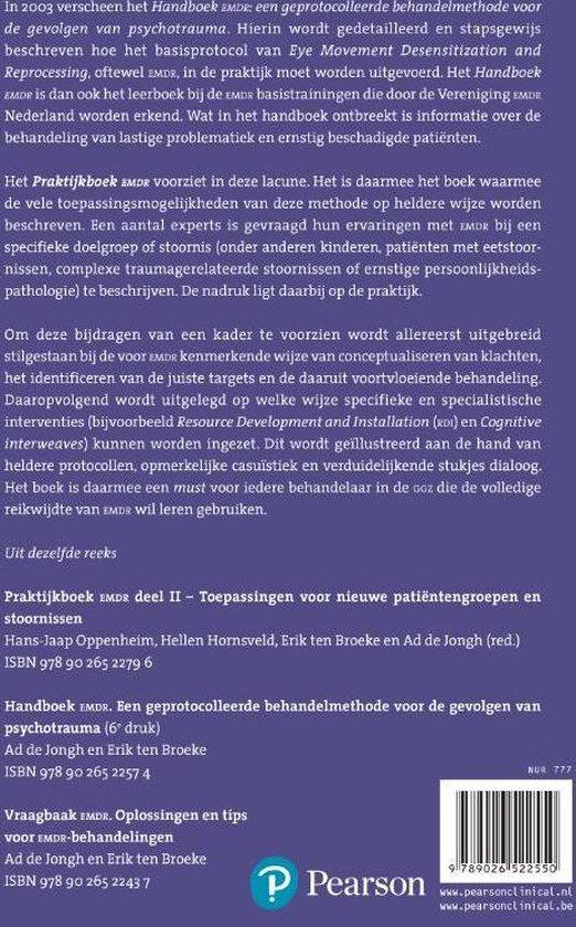 Praktijkboek EMDR - Pascale Bruynseels