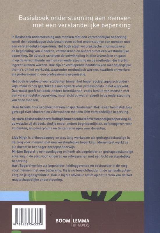 Basisboek ondersteuning aan mensen met een verstandelijke beperking - Lida Nijgh