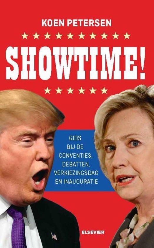Boek cover Amerikaanse bibliotheek  -   Showtime van Koen Petersen (Paperback)