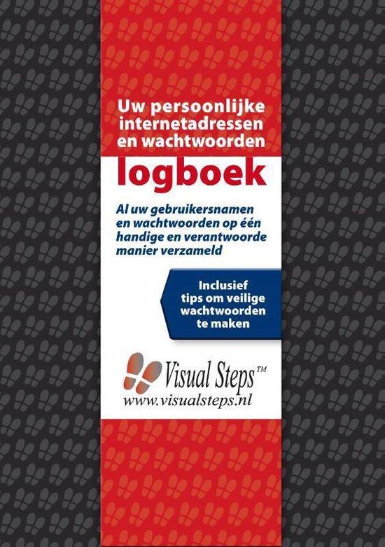 Boek cover Uw persoonlijke internetadressen en wachtwoorden logboek van Visual Steps B.V. (Paperback)