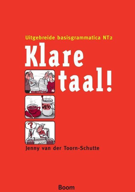 Boek cover Klare Taal! van Jenny van der Toorn-Schutte (Hardcover)