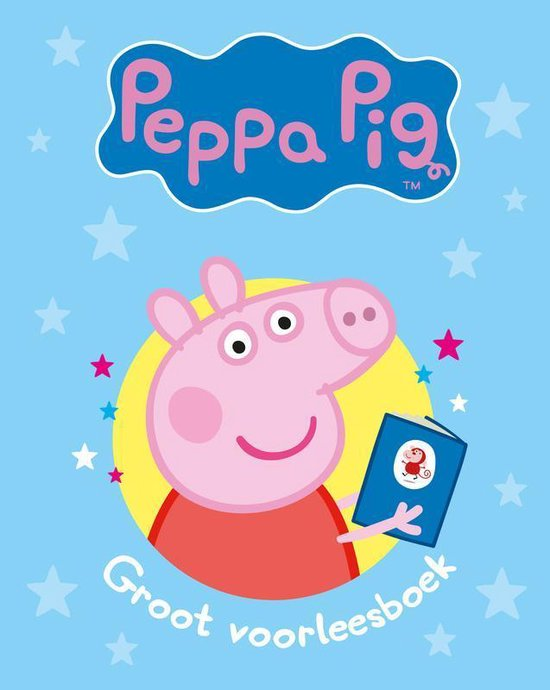 Boek cover Peppa Pig  -   Peppa Pig - Groot voorleesboek van Nevil Astley (Hardcover)