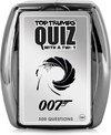 Afbeelding van het spelletje Top Trumps Quiz 007 James Bond (Engelstalig)