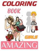 Coloring Book Amazing Girls