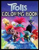 Trolls Coloring Book