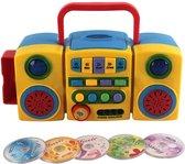 Kids Radio/CD-speler - Educatief speelgoed - Leren en plezier - Kinder Radio CD speler - Geel