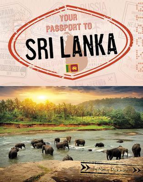 Boek cover Your Passport to Sri Lanka van Nancy Dickmann (Hardcover)