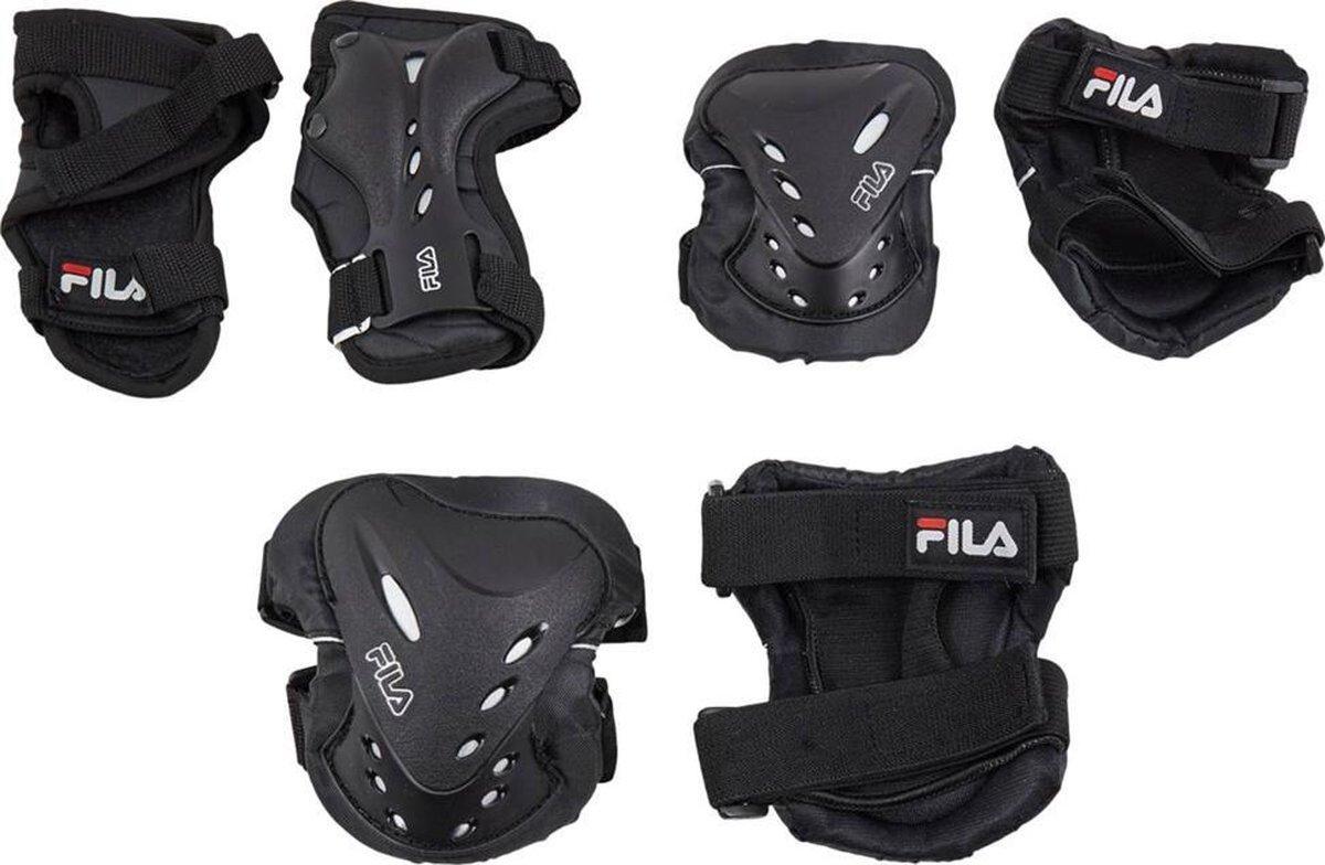 Fila - Skeeler bescherming - 3-pack FP - Maat S - Skatebescherming - Polsbeschermers - Elleboogbeschermers - Kniebeschermers - Unisex