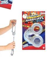 Handboeien - Felixbel - Handboeien - Super Rekbaar - Handcuffs - Politie - Speelgoed - Halloween - Carnaval - Schoencadeautjes - Verkleden