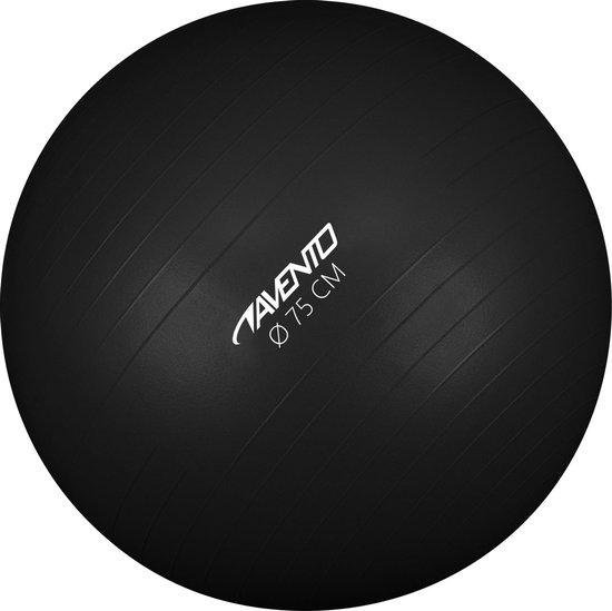 Avento Fitness/Gymbal - Ø 75 cm - Zwart