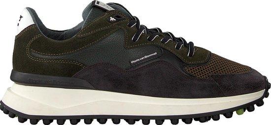 Floris Van Bommel Heren Lage sneakers 16339 - Groen - Maat 43