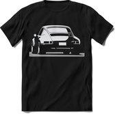Porsche T-Shirt Heren – design Race shirt Dames – Perfect Porsche design tshirt Cadeau – Porsche 911 Racing shirt - Maat L