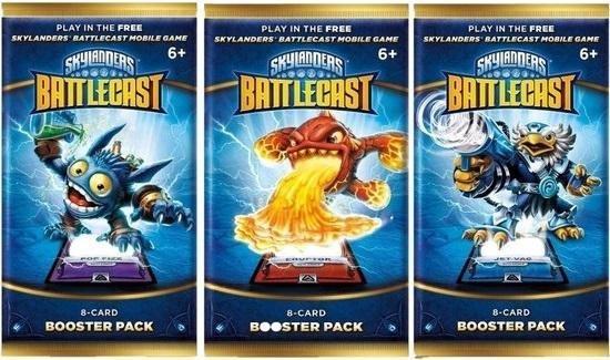 Afbeelding van het spel Skylanders Battlecast 8-Card Booster Pack