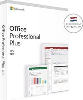 Microsoft Office Professional 2019 1 licentie(s) M