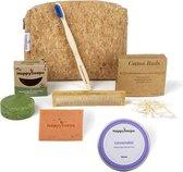 The Bamboovement | Verzorgingsset | Cadeau Vrouwen | Cadeau Heren | Douchegel | Shampoo Bar | Natuurlijke Deodorant |Bamboe Tandenborstel | Bamboe Kam | Toilettas Heren | Toilettas Dames | Bamboe Wattenstaafjes |