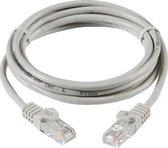Internetkabel 1 meter - CAT6 UTP kabel RJ45 - Grijs