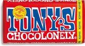 Tony's Chocolonely Melk Chocolade Reep - 180 gram